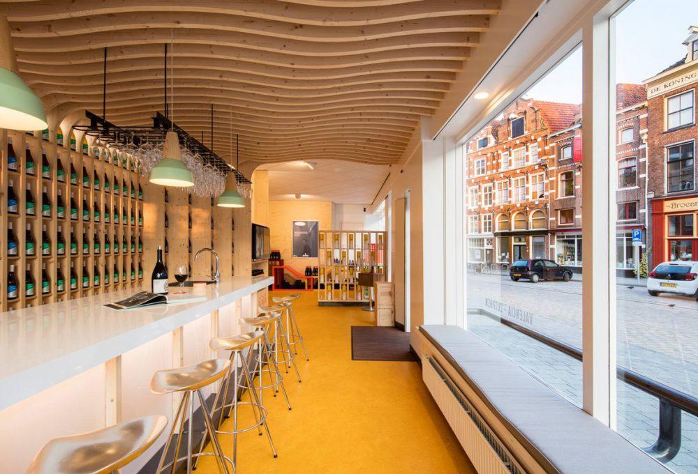 Wnętrze sklepu Nelemana w holenderskim mieście Zutphen.